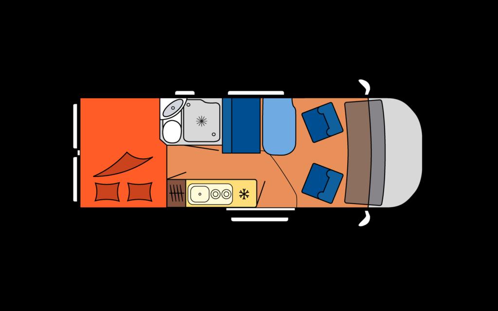 VAN Interior scheme